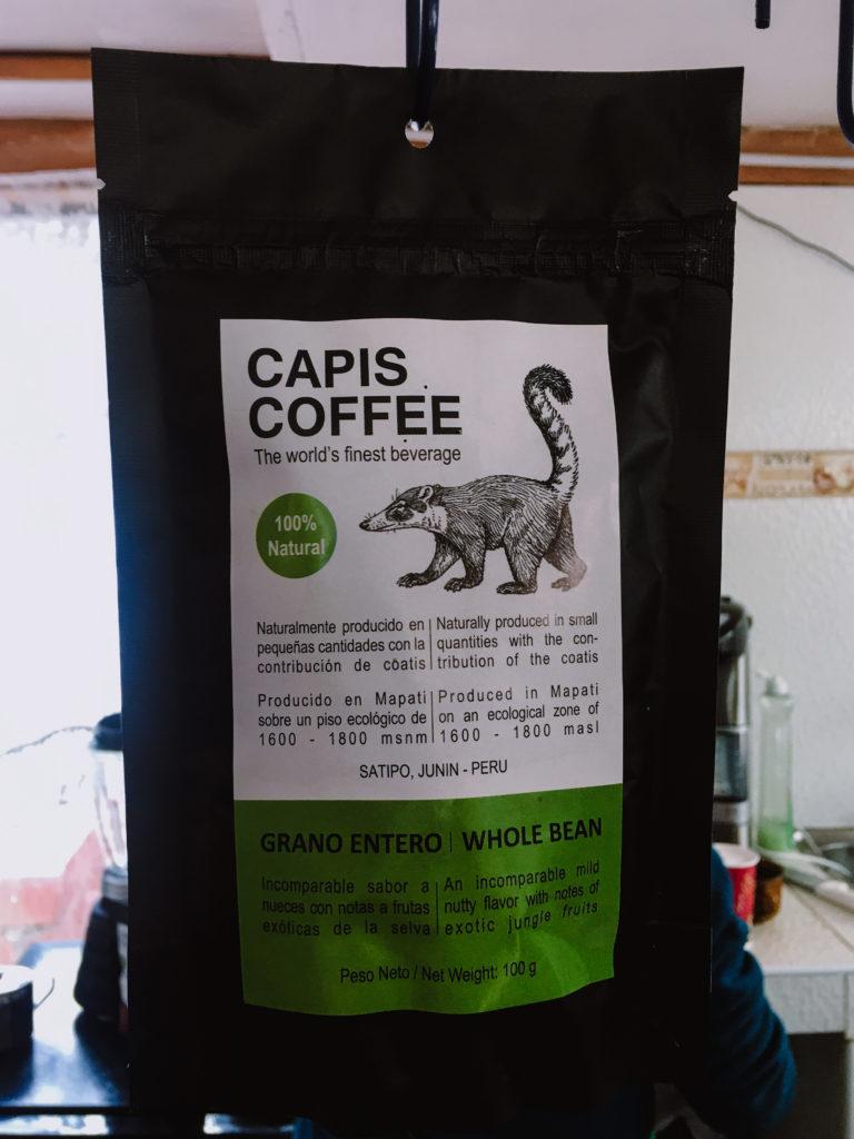 Kopi Luwak Coffee Cusco